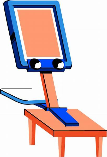 Screen Printing Clip Start Pinclipart