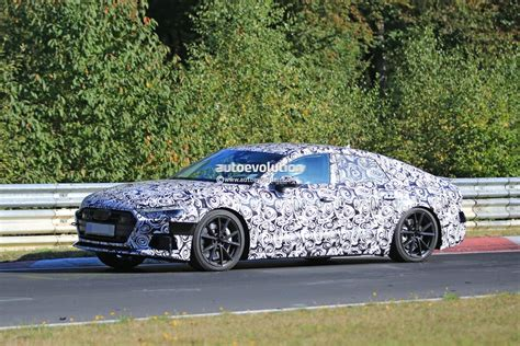 2018 Audi S7 Laps Nurburgring Early, Reveals Serious