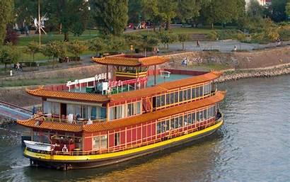 Restaurant China Floating Paradise Rotterdam Ocean Desktop