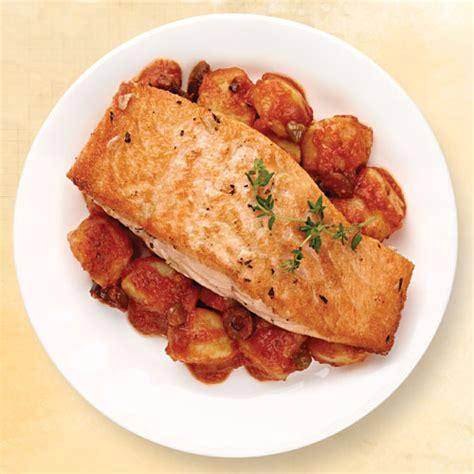 salmon puttanesca  gnocchi wegmans