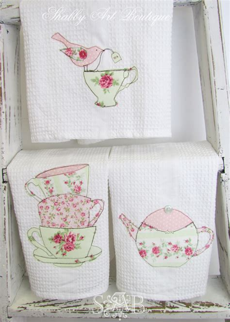 shabby chic tea towels 1000 images about decor shabby chic on pinterest romantic cottages and cabbage roses