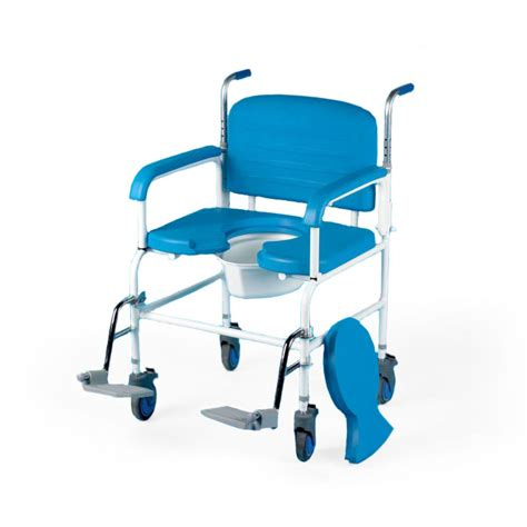 chaise de etac bariatric mobile commode shower chair sports supports