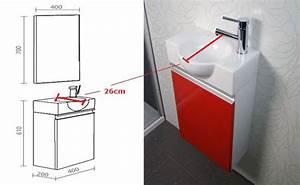 Waschtisch Für Gäste Wc : badm bel set g ste wc waschbecken waschtisch mit spiegel venezia 40cm ebay ~ Yasmunasinghe.com Haus und Dekorationen