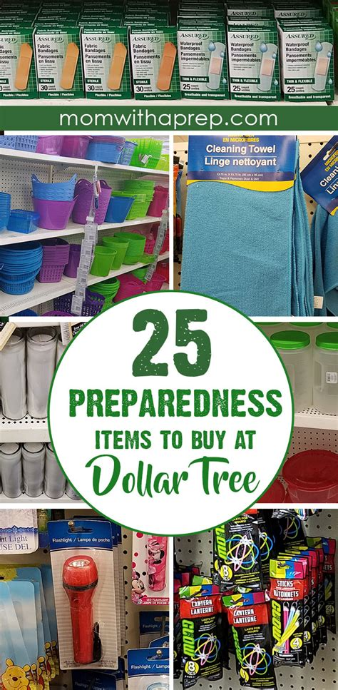 25 Favorite Preparedness Items At Dollar Tree  Mom With A