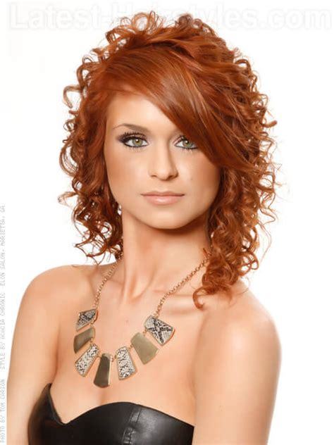 Hairstyles With by A Must List Curly Hairstyles Throughout Winter