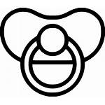 Pacifier Drawing Icon Svg Clipart Clip Icons