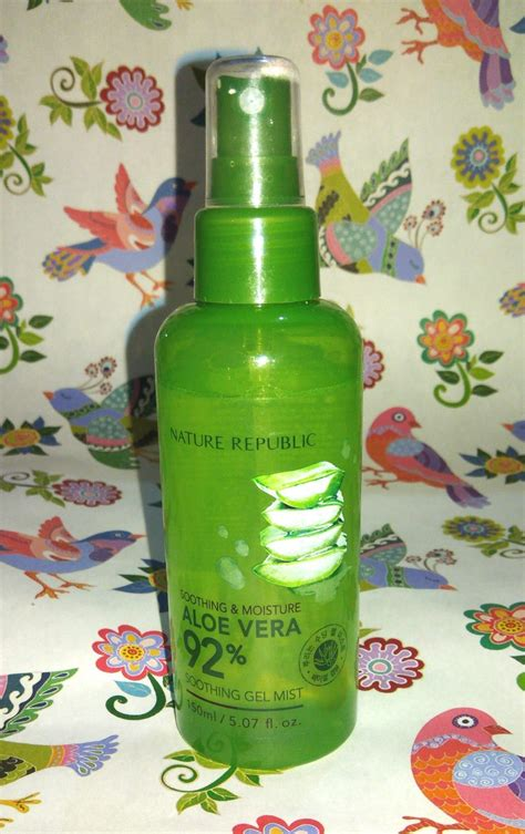 Harga Nature Republic Soothing Gel Mist review nature republic aloe vera 92 soothing gel mist