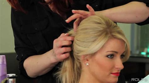 create  perfect high volume ponytail   easy steps