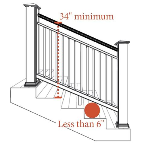 stair railing height best 25 deck stair railing ideas on pinterest diy safety gates safety first baby gate and