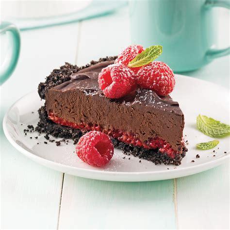 cuisine framboise tarte choco framboises recettes cuisine et nutrition