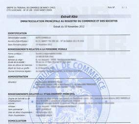 radiation chambre de commerce extrait kbis officiel en ligne immediat