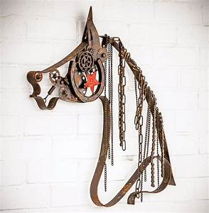 rustic metal horse with chain mane With kitchen cabinet trends 2018 combined with metal wall art com coupon code