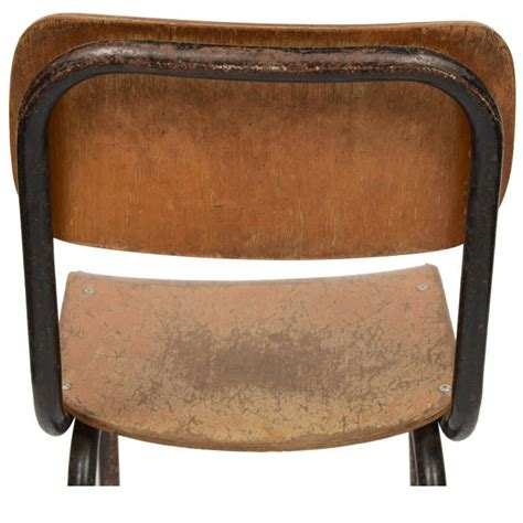 small school desk and chair italy 1950s at 1stdibs