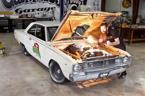 revealed  gas monkeys  dart beat roadkill hot