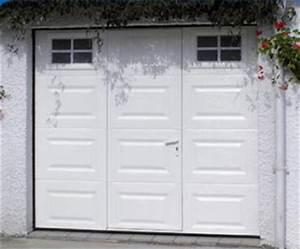 Porte De Garage Sectionnelle Avec Porte : portes garage portail cloture portail alu portalux ~ Edinachiropracticcenter.com Idées de Décoration