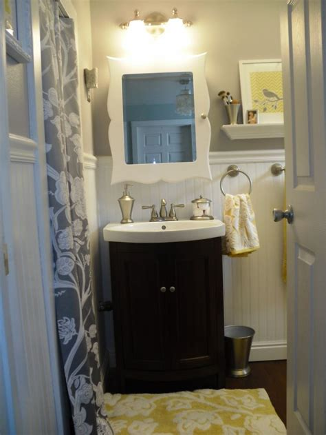 yellow and gray bathroom ideas 11 best yellow gray bathroom ideas images on