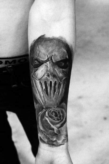 50 Slipknot Tattoos For Men - Heavy Metal Band Design Ideas