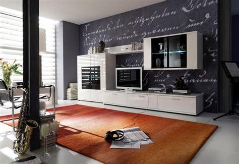 etagere pour meuble tv et salle a manger bois contemporain