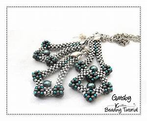 Beading Pattern Instructions Tutorial Cubic Right Angle