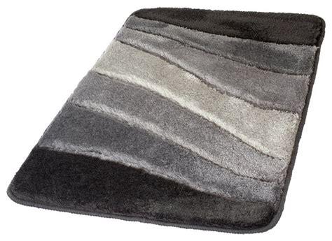 gray non slip washable bathroom rug ocean contemporary