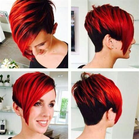kurze haare farbe die 11 tollsten farben in kurzen haaren f 252 r frauen mit mut neue frisur kurzhaarfrisuren