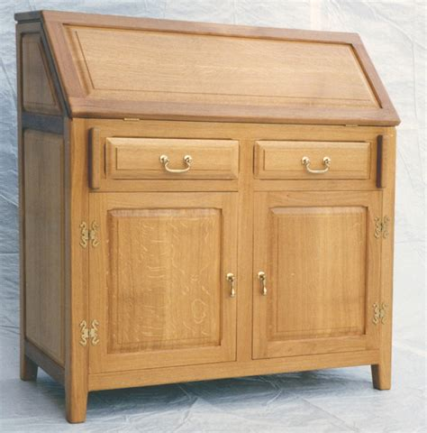 oak bureau desk mill furniture traditional and contemporary handmade