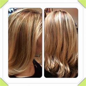 Highlight and low light hair color my works