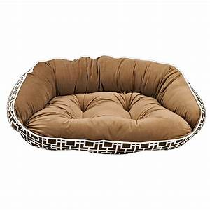 Bowser crescent dog bed for Bowser dog beds
