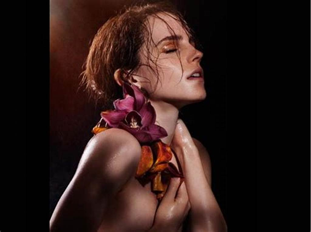 #Emma #Watson #Does #A #Topless #Photoshoot