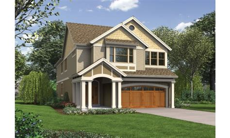 Interiors Lot Character by Narrow Lot House Plans With Front Garage Narrow Lot House