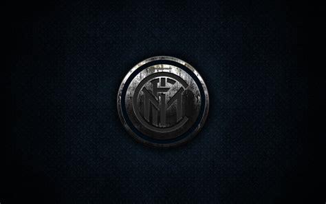 Download wallpapers Inter Milan FC, metal logo, creative ...