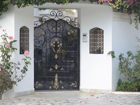 style de porte exterieure en fer forg 233 tunis maisons citizen59 flickr