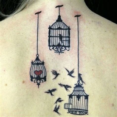 bird cage tattoos designs ideas  meaning tattoos