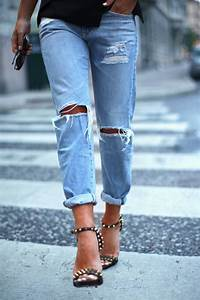 Knee Cut Jeans u0026 Why Weu0026#39;re All Obsessed With Them? | Fashion Tag Blog