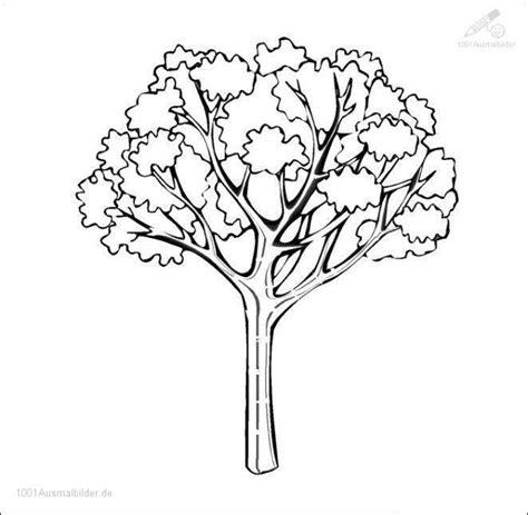 Kleurplaat Herfstboom by Ausmalbilder Baum Kostenlos Malvorlagen Zum Ausdrucken