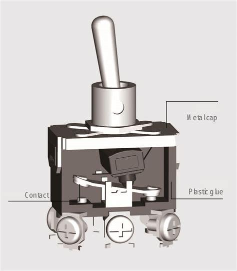 Miniature Toggle Switch Wiring Pin