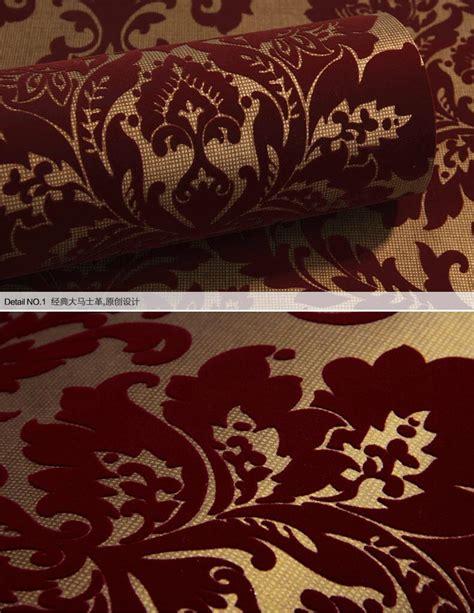 velvet flocked wallpaper gallery