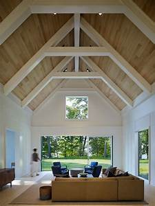 Ceiling Lights For Concrete Ceilings 25 Vaulted Ceiling Ideas With Pros And Cons Digsdigs
