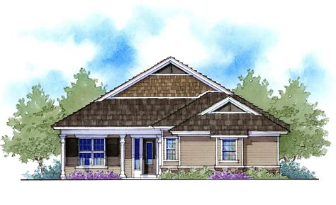 Net Zero Ready Home Plan With 3 Elevations