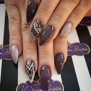 The gallery for --> Stiletto Nails With Tribal