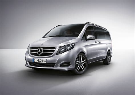 Mercedes V Class Photo by Mercedes Officially Reveals 2015 V Class Autoevolution