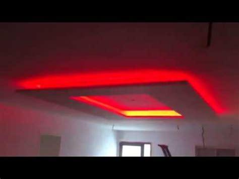 installer ruban led plafond faux plafond avec led rgb