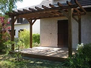 Tonnelle bois for Abri de jardin bois pas cher leroy merlin 16 pergola brico depot