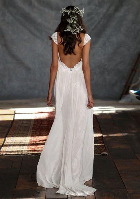 robe longue dos nu mariage robe de mari 233 e dos nu semi nu et en dentelle 70 designs