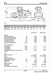 Bomag Bw 216  218 D  Pd 40 Single Drum Roller Pdf Service Manual
