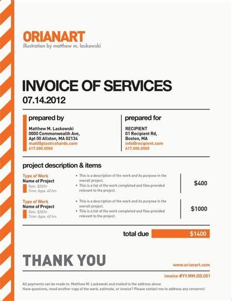 creative invoice template designs design invoice