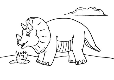 printable dinosaur coloring page  mommy