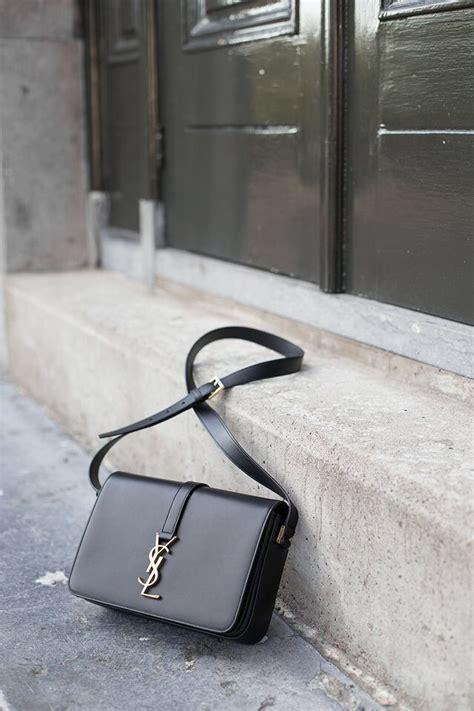ysl black shoulder bag ysl handbags bags minimalist bag
