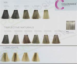 Goldwell Colorance Color Chart Goldwell Paleta Col 3 Jpg 1400 1164 Color Lines