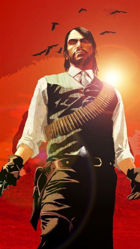 dead redemption john marston wild west game wallpaper